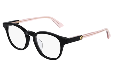 Gucci GG0556OJ 004 black pink transparen 47 Uomo