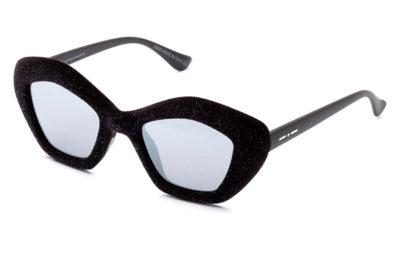 ITALIA INDEPENDENT 0943V.009.GLT glitter velvet black 49 Donna