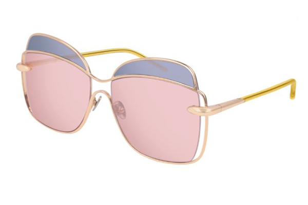 Pomellato PM0057S 003 gold yellow pink 57 Donna