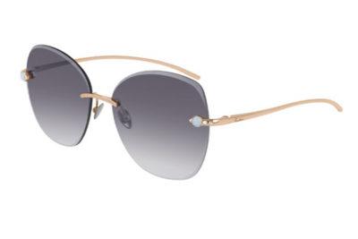 Pomellato PM0066S 001 gold gold grey 57 Donna