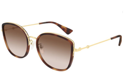 Gucci GG0606SK 003 havana gold brown 56 Donna