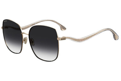 Jimmy Choo Mamie/s RHL/9O GOLD BLACK
