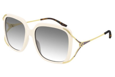 Gucci GG0647S 004 ivory gold grey