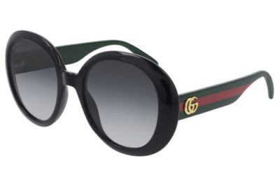 Gucci GG0712S 001 black green grey